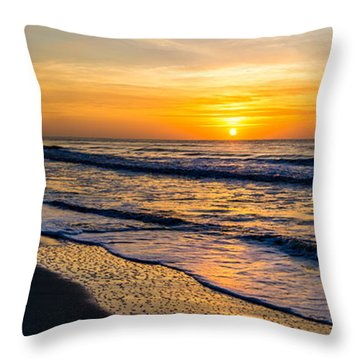 South Carolina Sunrise Throw Pillow