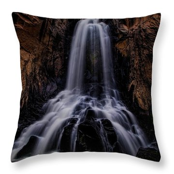 South Clear Creek Falls Throw Pillow