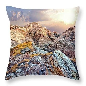 South Dakota 2 Throw Pillow