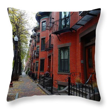 South End - Boston Throw Pillow