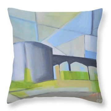 South Hackensack Tanks Throw Pillow