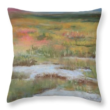South Jersey Marsh Throw Pillow