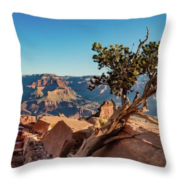 South Kaibab Grand Canyon Throw Pillow