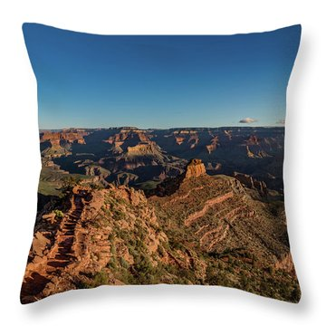 Throw Pillow featuring the photograph South Kaibab Trail by Phil Abrams