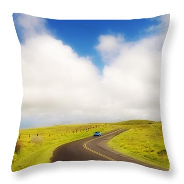 South Kohala Throw Pillow by Greg Vaughn - Printscapes