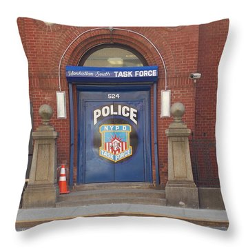 South Manhattan Task Force 1 Throw Pillow