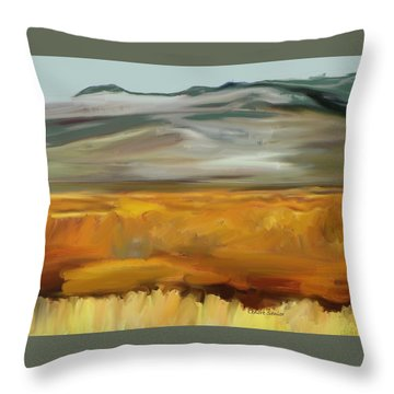 South Of Walden Throw Pillow