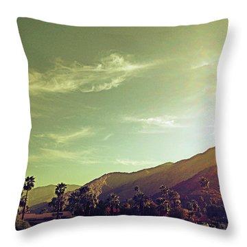 South Palm Springs California Throw Pillow