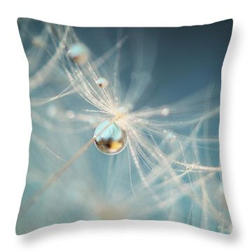 Throw Pillow featuring the photograph South Sea Pearl by Amy Tyler