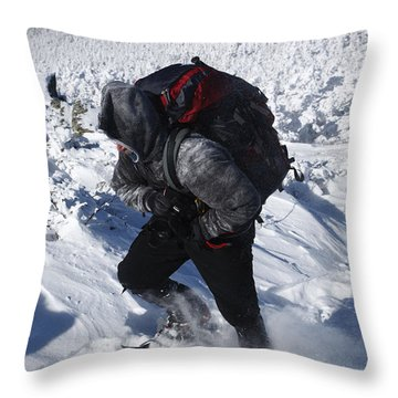 South Twin Mountain - White Mountains New Hampshire  Throw Pillow by Erin Paul Donovan