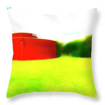 South Walls Throw Pillow