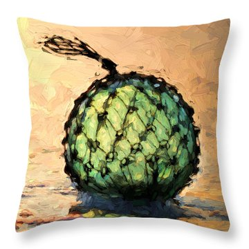 South Walton Zen Throw Pillow