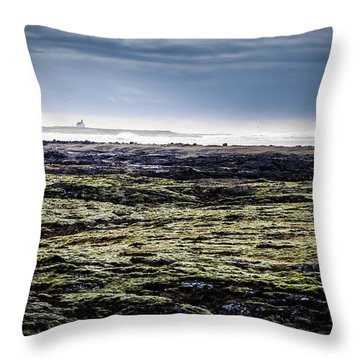 South West Iceland Throw Pillow