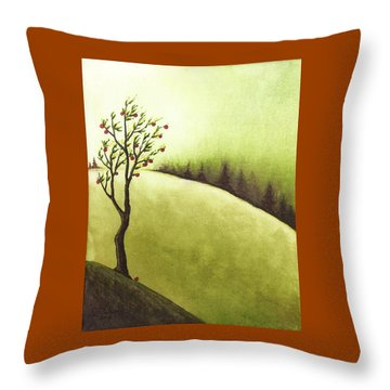 South Wind Throw Pillow by Danielle R T Haney