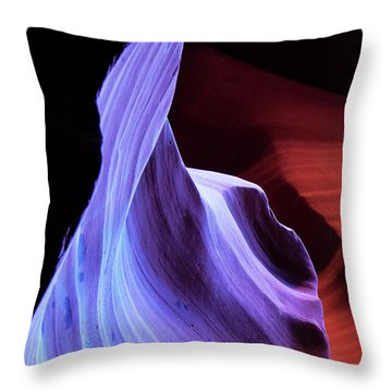 Throw Pillow featuring the photograph South Wrest Color by Norman Hall
