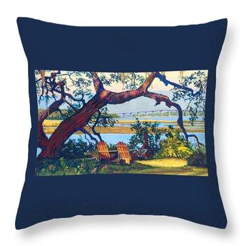 Southern Adirondacks Throw Pillow