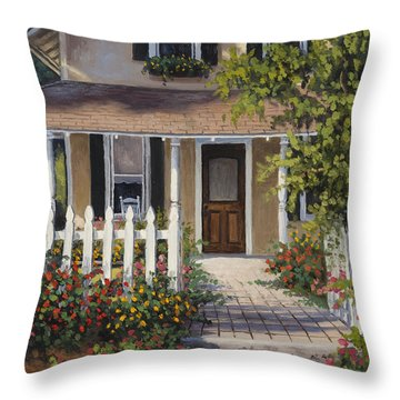 Throw Pillow featuring the painting Southern Appeal by Kyle Wood