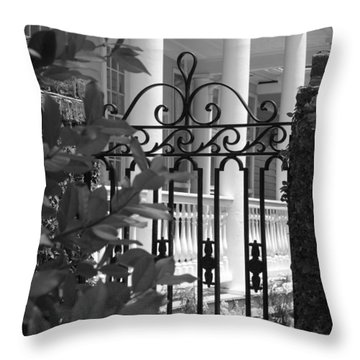 Southern Charm Throw Pillow by Debbie Karnes