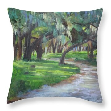 Southern Charm  Throw Pillow