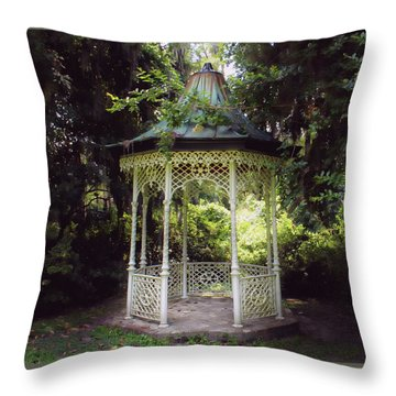 Throw Pillow featuring the photograph Southern Charm by Jessica Brawley