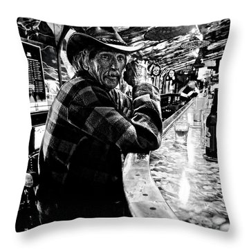Southern Dude Throw Pillow