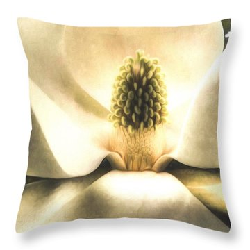 Southern Grace Throw Pillow