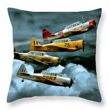 Southern Knights Throw Pillow