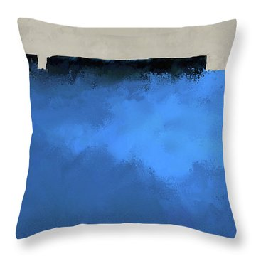 Southern Reach 2 Throw Pillow