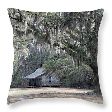 Southern Shade Throw Pillow by Al Powell Photography USA