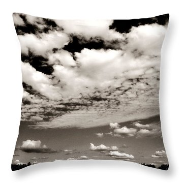 Southern Skies Throw Pillow by Mimulux patricia No
