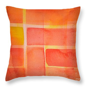 Southern Sun Throw Pillow by Holly York
