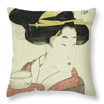 Southern Teahouse Throw Pillow