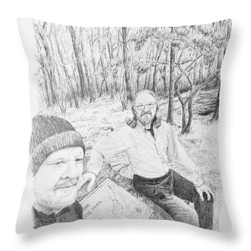 Southern Terminus  Throw Pillow