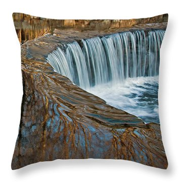 Southford Falls Throw Pillow