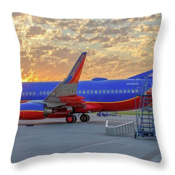 Southwest Airlines - The Winning Spirit Throw Pillow