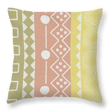 Southwest Decorative Design 6- Art By Linda Woods Throw Pillow