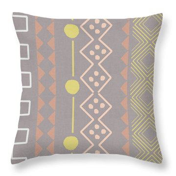 Southwest Decorative Design 7- Art By Linda Woods Throw Pillow