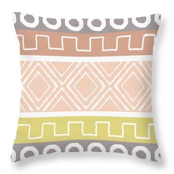 Southwest Decorative Design 8- Art By Linda Woods Throw Pillow