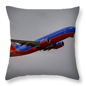 Southwest Departure Throw Pillow