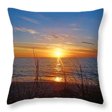 Southwest Florida Sunset Throw Pillow