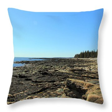 Southwest Harbor Throw Pillow