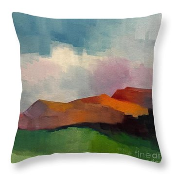Southwest Light Throw Pillow