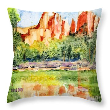 Southwest Reflections Throw Pillow