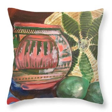 Southwest Still Life Throw Pillow