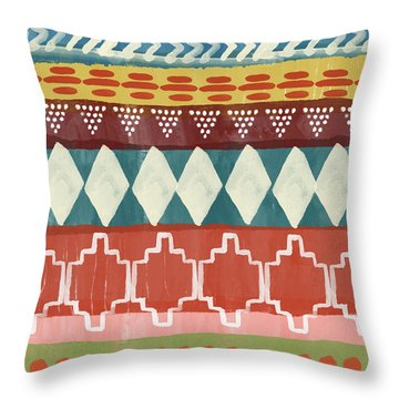 Southwestern 1- Art By Linda Woods Throw Pillow
