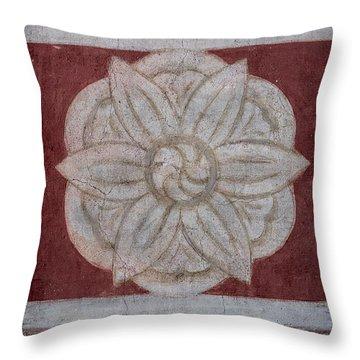 Southwestern Floral Medallion Throw Pillow