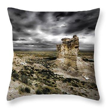 Southwestern Storm Throw Pillow