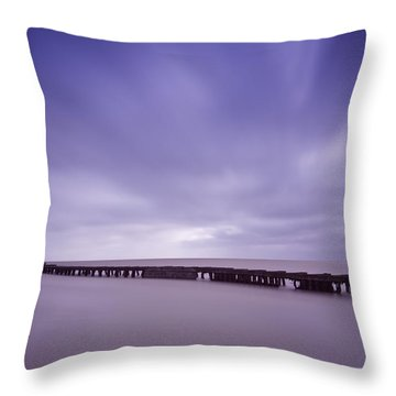 Southwold Harbour Wall Throw Pillow