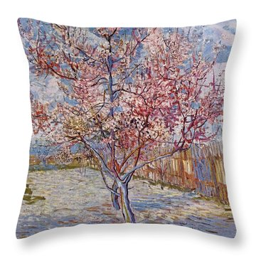Souvenir De Mauve Throw Pillow
