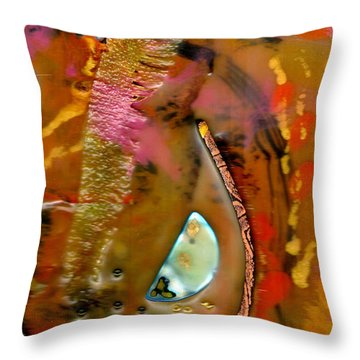 Sowing Seeds Throw Pillow by Angela L Walker